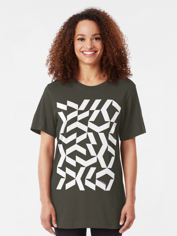 Alternate view of Chaotik K (w) Slim Fit T-Shirt