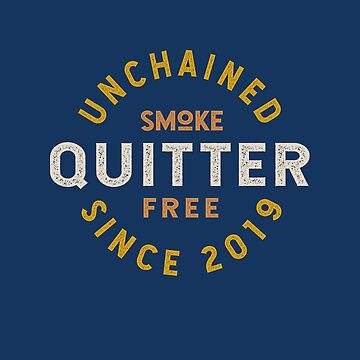 Congratulations! Quit Smoking 2019 New Years Resolution Tobacco-Free Ex Smoker, Quit Smoking Cigarettes Apparel and Gifts by manbird