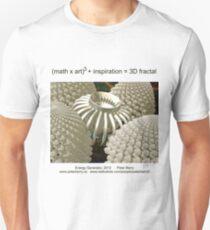 Fractal Math - Energy Generator Unisex T-Shirt