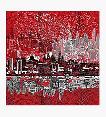 Philadelphia-Skyline 3 Fotodruck