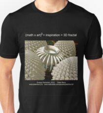 Fractal Math - Energy Generator Dark Unisex T-Shirt