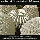 Fractal Math - Energy Generator Dark by Peter Berry