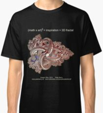 Fractal Math - Dragon Ship Dark Classic T-Shirt
