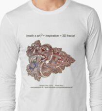 Fractal Math - Dragon Ship Long Sleeve T-Shirt
