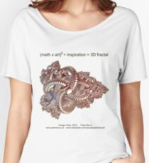 Fractal Math - Dragon Ship Women's Relaxed Fit T-Shirt