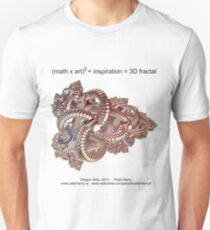 Fractal Math - Dragon Ship Unisex T-Shirt