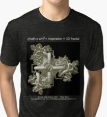 Double Julia Artifact - Dark Tri-blend T-Shirt