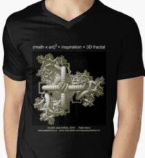 Double Julia Artifact - Dark Men's V-Neck T-Shirt