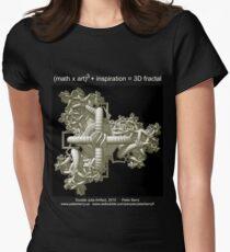 Double Julia Artifact - Dark Women's Fitted T-Shirt