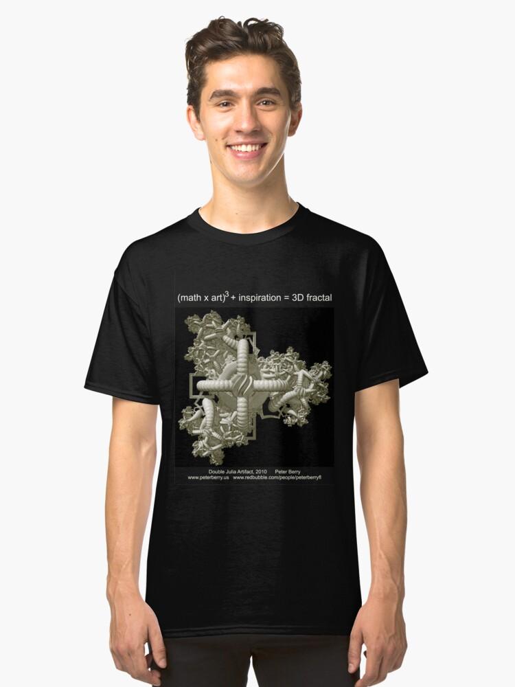 Double Julia Artifact - Dark Classic T-Shirt Front