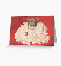 Does This Make Me Look Fat? Greeting Card