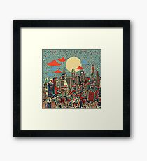 philadelphia panorama 3 Framed Print