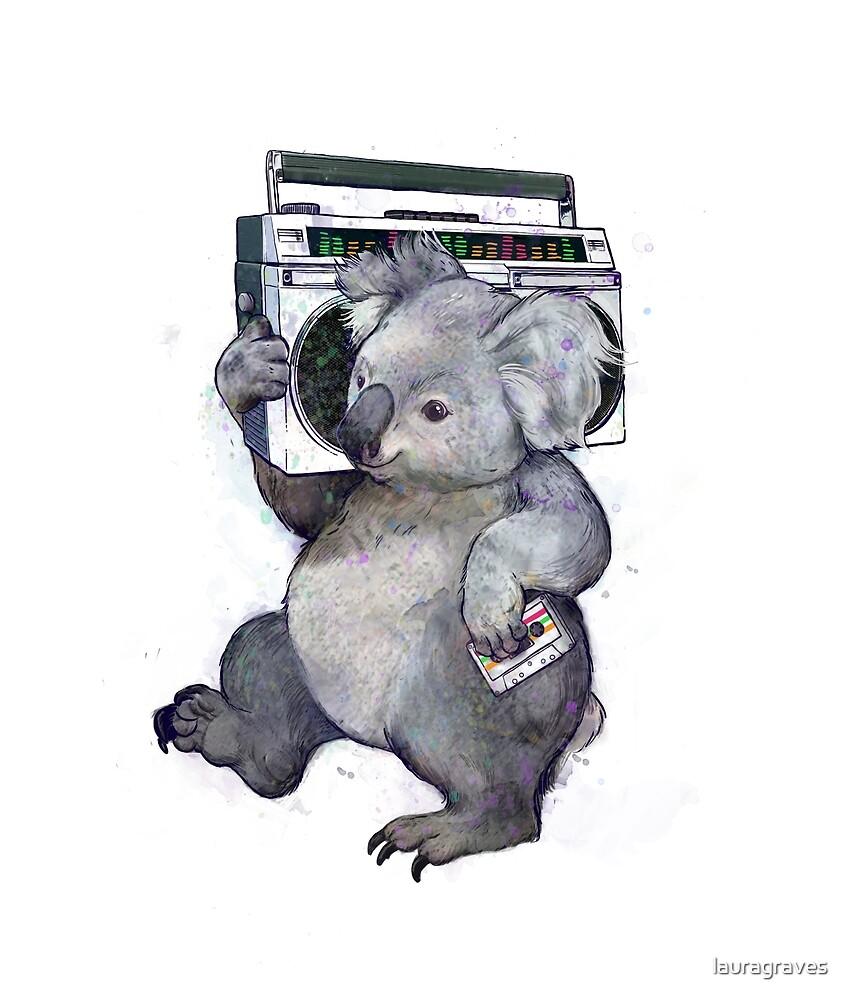 koala  by lauragraves