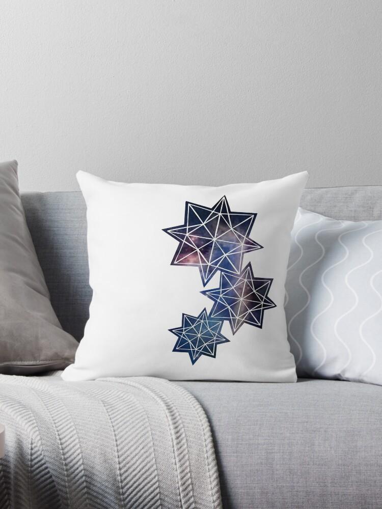 Papercut star cosmos by Jodie McCrystal