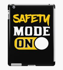 OSHA Safety Occupational Health Officer Manager  iPad Case/Skin