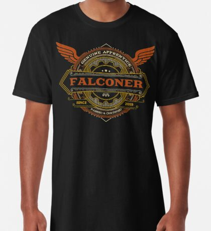 Congratulations! 2019 Apprentice Falconer's New Design Apparel and Gifts - 2019 Falconry Apprentice Long T-Shirt
