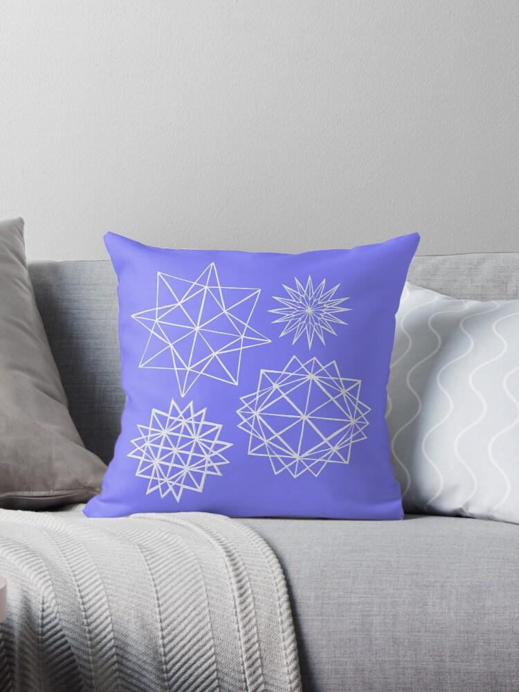 Papercut star pattern 1 by Jodie McCrystal