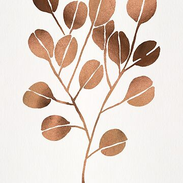 Silver Dollar Eucalyptus – Rose Gold Palette by catcoq