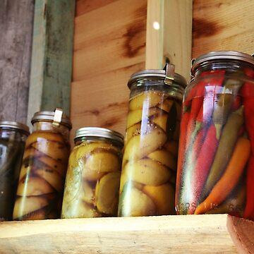 Jars Of Colour by LozzaElizabeth