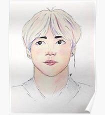 Póster Taehyung / V Fanart