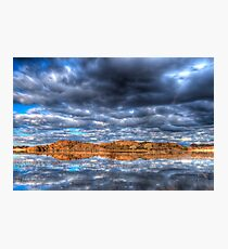 Cloudy Reflection 1 Photographic Print