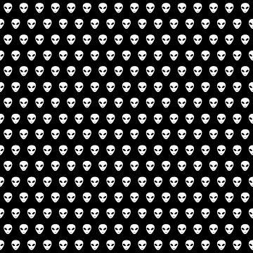 Alien heads pattern by Grundelboy