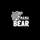 Koala Mama Bär | Zusammenpassender Familien-Hemden und Geschenke Der Tag des Vegan-Mutter von everydayjane