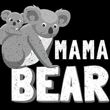 Koala Mama Bear | Matching Family Shirts and Gifts Vegan Mother's day by everydayjane