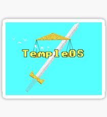 TempleOS Sticker