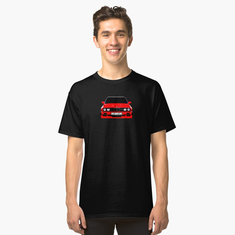 Produced For Homologation - E30 Inspired Classic T-Shirt Front