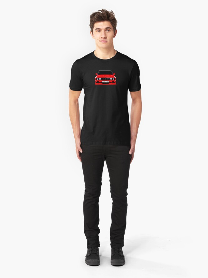 Alternate view of Produced For Homologation - E30 Inspired Slim Fit T-Shirt