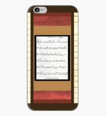 Piano keys with sheet music by Kristie Hubler iPhone Case