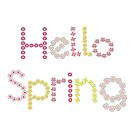 Hello Spring Flowers by Sandra Hutter