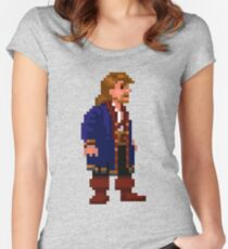 Guybrush (Monkey Island 2) Women's Fitted Scoop T-Shirt