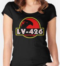 Xenomorph Park - LV 426.  Women's Fitted Scoop T-Shirt