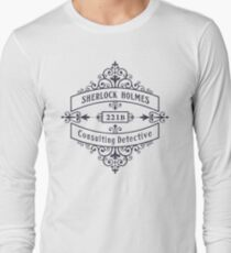 Consulting Detective (blue) Long Sleeve T-Shirt
