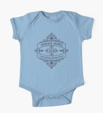 Consulting Detective (blue) Kids Clothes