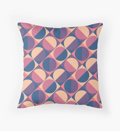 Sunset Retro  Throw Pillow
