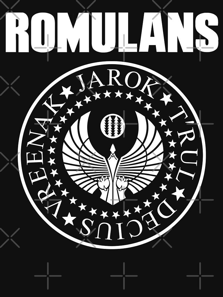 Romulans ( logo mashup ) by BartsGeekGifts