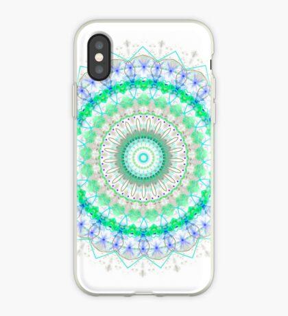 Spring Fresh mandala iPhone Case