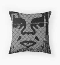 OBEY the GIANT - Shepard Fairey Throw Pillow
