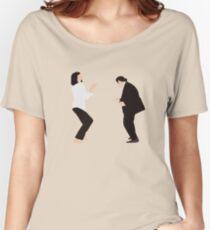 Camiseta ancha para mujer Pulp Fiction - Danza