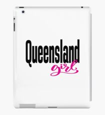 Queensland Girl Australia Raised Me iPad Case/Skin