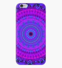 Purple Psyche Mandala iPhone Case