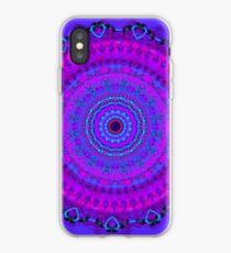 Purple Psyche Mandala iPhone Case