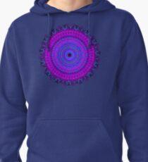 Purple Psyche Mandala Pullover Hoodie