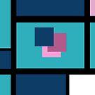 Blue Harmony Design Vertical Format by hurmerinta
