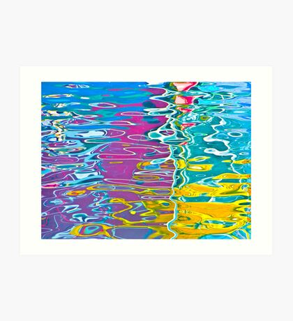 Crazy reflections Art Print