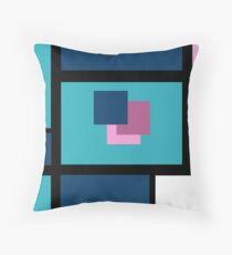 Blue Harmony Design Vertical Format Floor Pillow