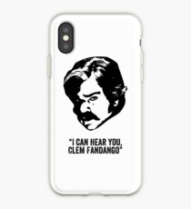 Toast of London 'I can hear you Clem Fandango' iPhone Case
